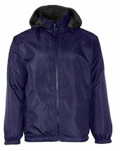 LAX Men's Premium Water Resistant Security Reversible Jacket With Removable Hood image 8