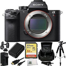 Sony Alpha A7R II 4K Wi-Fi Digital Camera Body + 32GB Card Supreme Bundl... - $2,152.26