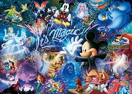 1000 piece jigsaw puzzle Disney It's Magic! The world's smallest 10... - $49.16