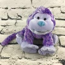 Ganz Webkinz Sugarplum Cheeky Monkey Plush Purple Stuffed Animal Soft Chimp - $11.88