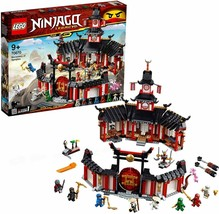 LEGO ninjago Monastery of The Spinjitzu Includes 8 Minifigures 29 x 32 X... - $356.91
