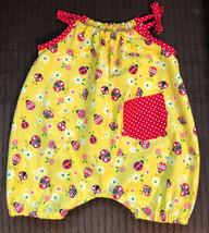 Baby Girls Ladybug Romper    12-18 Months - $24.00