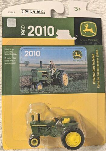 John Deere TBE45349 ERTL 2010 Die Cast Metal Replica Tractor