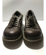 Dr. Doc Martens Women's US SIZE 10 Brown Leather Lace Up Shoes Oxford - $24.75