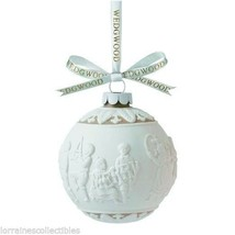 Wedgwood Merry Christmas Ornament Ball NEW IN BOX (S) - $29.69