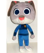 "LARGE DISNEY ZOOTOPIA OFFICER JUDY HOPPS BUNNY RABBIT 30"" BIG PLUSH DOLL... - $24.99"