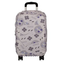 Super Nintendo Controller Video Game Carry On Luggage Suitcase Sleeve Cover Nwt