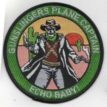 """4"""" Usaf Air Force VFA-105 Echo Baby Pc Gunslingers Embroidered Jacket Patch - $18.99"""