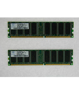 1gb (2x512mb) Memoria para Puerta 500se 500xl 2.53g 510g E-2100 Thrasher... - $17.83