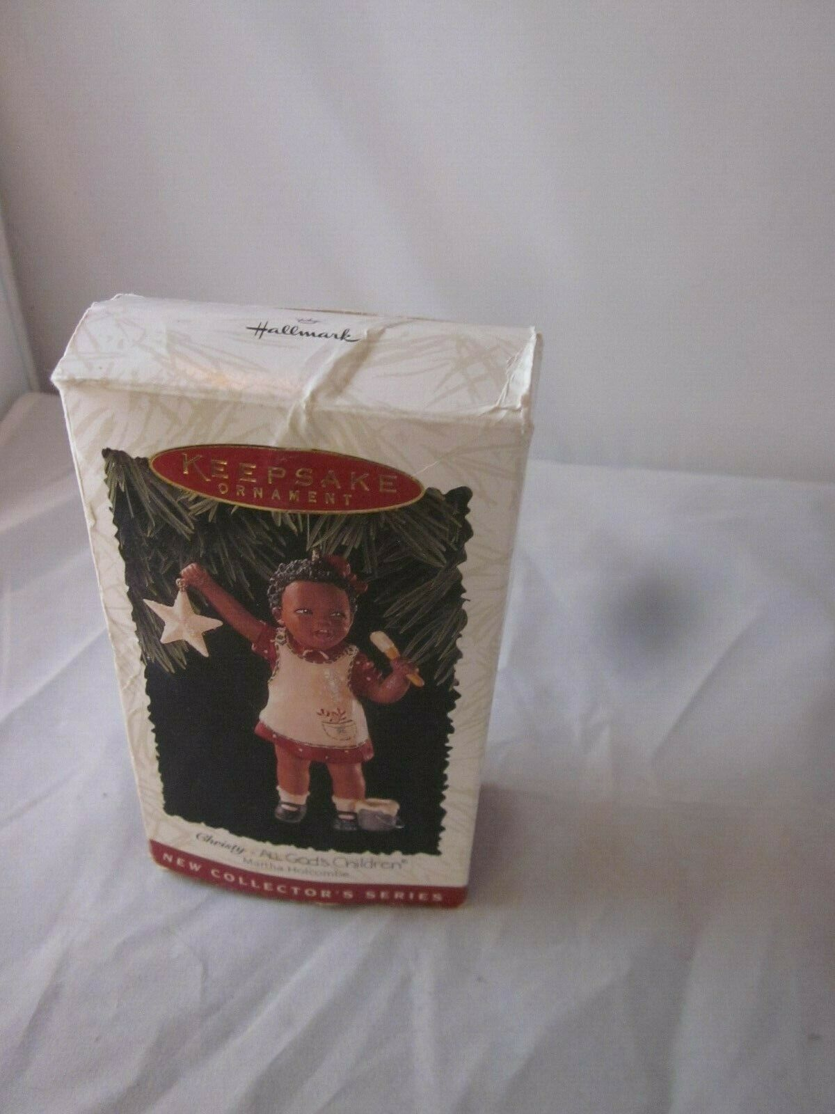 Hallmark Keepsake Ornament 1996 All God's Children Christy 1st in Collector's S image 2