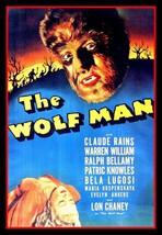 """4.5"""" Lon Chaney Wolf Man vinyl sticker. Werewolf movie monster decal for... - $2.92"""