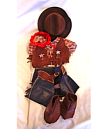 """Tender Treasures 10"""" to 15"""" Bear Western Outfit Chaps Vest Boots Cowboy - $19.99"""