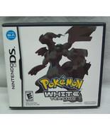 Pokemon: White Version NINTENDO DS VIDEO GAME COMPLETE - $54.45