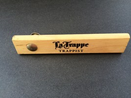 NEW La Trappe Trappist, Abdij Konigshoeven - Retro Wood/Metal Bottle Ope... - $12.95