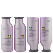 Pureology Hydrate Shampoo & Conditioner 250 ml 4 ct   - $93.46