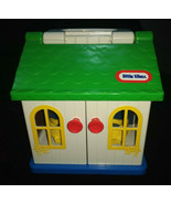 Vintage 80's Little Tikes Toddle Tots House Carry Playset  Very Clean - $18.00