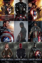 "Captain America The First Avenger Movie Poster Film Print 13x20"" 27x40"" ... - $10.87+"