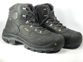"Keen Leavenworth Internal Met Guard 6"" Size 13 2E WIDE EU 47 Men's WP Work Boots"