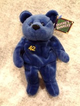 Salvino's Bammers Opening Day Spring 1999 Mo Vaughn # 42 Blue Bear~New With Tag - $6.76