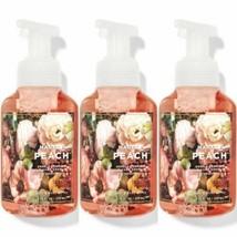 3 Pc Bath & Body Works Market Peach Gentle Foaming Hand Soap w/Essentia ... - $28.04