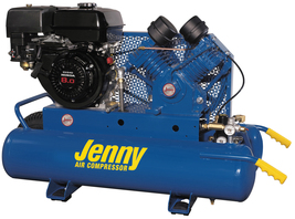 Jenny 9Hp 15Gallon 1Stage Truck Mount Gas Powered Air Compressor 15CFM G9HGA-15P - $2,450.00