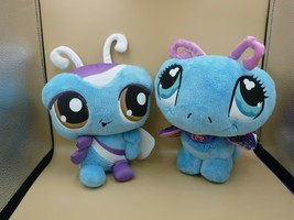 Littlest Pet Shop Wackiest Butterfly & Butterfly Plush Lot No Codes - $9.75