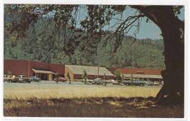 Hoopa Vallley Shopping Center Cars Hoopa California postcard - $5.94