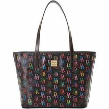 Dooney & Bourke DB75 Charleston Shopper Black Multi