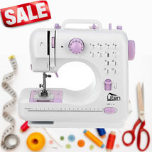 Electric Desktop Sewing Machine 12 Stitches Household Tailor 2 Speed Foo... - $141.68