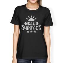 Hello Summer Sun Womens Black Shirt - $14.99+