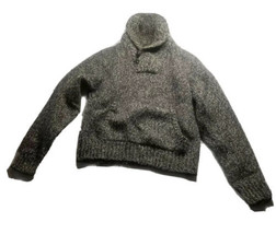 RRL Double RL Ralph Lauren Knit Mock Neck Sweater Sz XS (Label Sz M) - $56.09