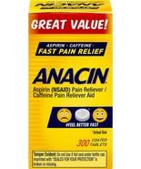 Anacin Fast Pain Relief, Aspirin + Caffeine Pain Reliever, - $16.61