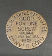 Fantasy Brothel Token Silver Dollar Hotel Colorado - $4.99