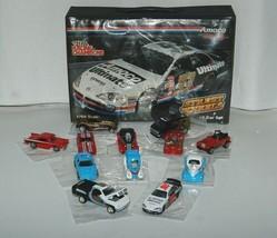 Amoco Racing Street Wheels Champions 12 Car Set 24 Piece Carrying Case image 1