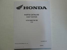 2004 2005 2006 2007 2008 Honda VTX1300C Parts Catalog Manual Book Brand New - $99.22