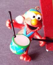 Carlton Cards Sesame Street Little Drummer Boy Ornament 2000 - $15.83