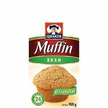Quaker Bran  Muffin Mix 6 x 900g bags Canada - $79.99