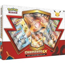 TCG: Charizard-EX Collection Card Game, Red/Blue Discontinued by manufac... - $55.27