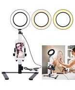 """B-Land 5.7"""" Ring Light with Desktop Stand for YouTube Video and Makeup, ... - $36.16"""