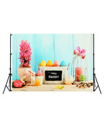 7x5ft/5x3ft Happy Easter Theme Thin Vinyl Photography Backdrop Backgroun... - $16.30