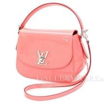 LOUIS VUITTON Pasadena Vernis Poppy Petal Handbag 2way M90949 Authentic ... - $1,541.79