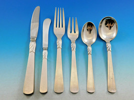 Comtesse by A. Dragsted Danish Sterling Silver Flatware Set 60 pcs Modern - $4,350.00