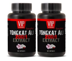 Testosterone booster supplement - TONGKAT ALI 200: 1 400MG PREMIUM EXTRA... - $29.65