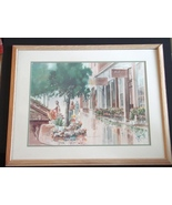 David Nichols, Signed Artist Proof, Framed and Matted  Print - $180.00
