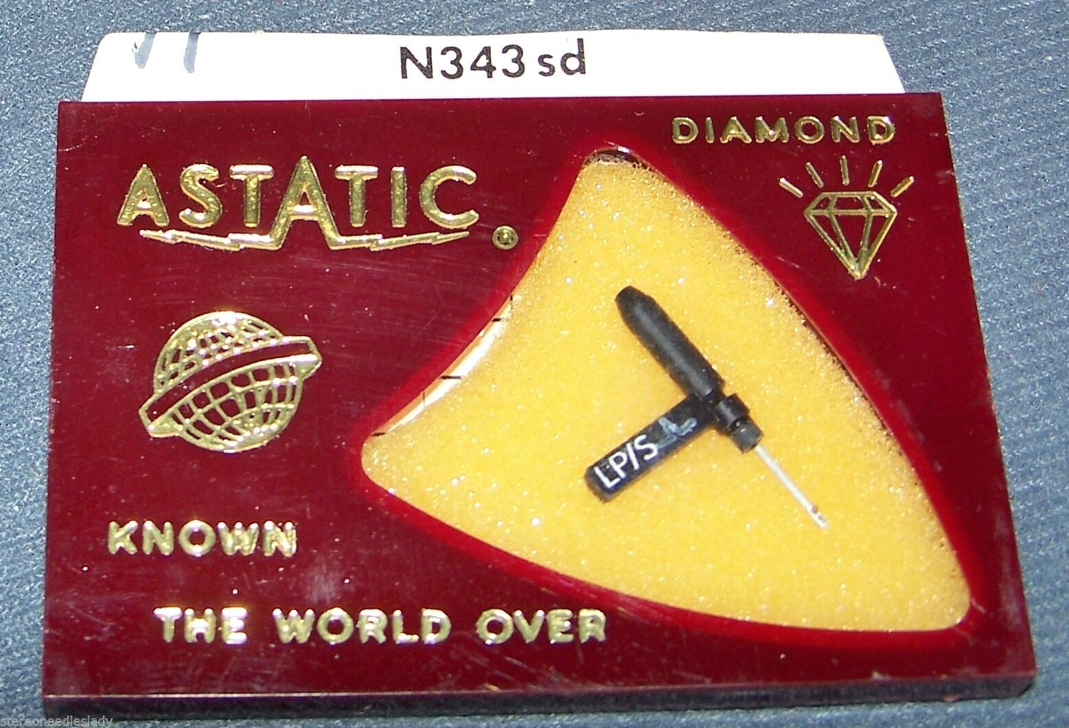 Astatic N343-sd NEEDLE STYLUS for Garrard ADS KS-40A 41A GDS-1 GDS-2 494-DS73