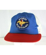 Ford Mustang Blue/Red Baseball Cap  Snapback - £15.45 GBP