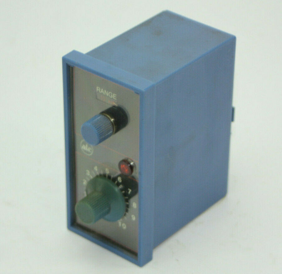 ATC 328  ATC 328B-200-Q-10XX MOS Time Delay Relay  Dial Adjustable Used - $69.29