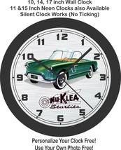 Nu-Klea Starlite Classic Car Wall Clock-Free USA Ship - $28.70+