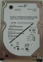 "NEW ST980811A Seagate 80GB IDE 44PIN 2.5"" 9.5MM Hard Drive Free USA Shipping"