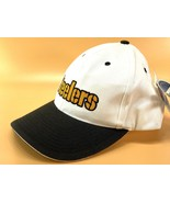 "Pittsburgh Steelers Vintage NFL White ""Shadow"" Snapback (New)/Sports Spe... - $24.99"